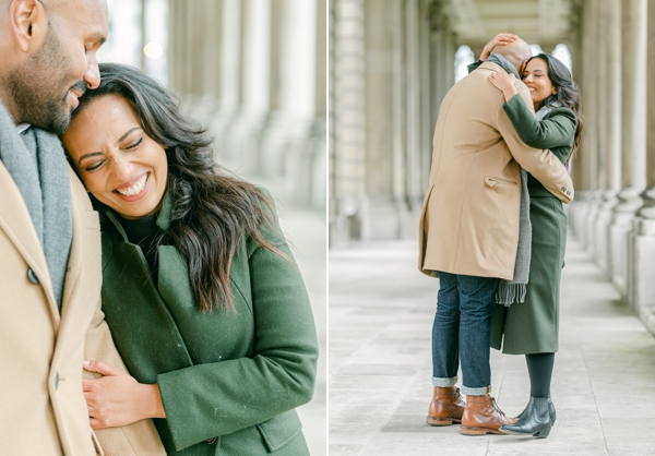 London Proposal and engagement at Greenwich Royal Navy College, London, UK.